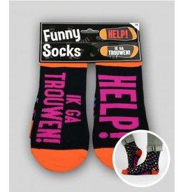 Funny socks nr 14 Ik ga trouwen, 1 paar