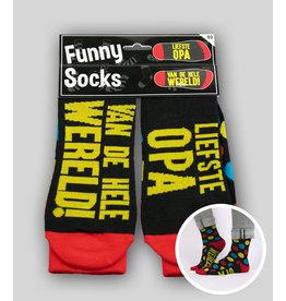 Funny socks nr 3 liefste opa 1 paar