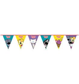 Woezel & Pip vlaggenlijn 4 meter