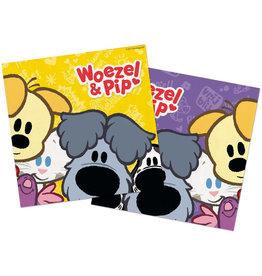 Woezel & Pip servetten 20 stuks