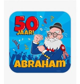 Huldeschild nr 37 Abraham Cartoon