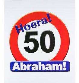 Huldeschild nr 6 Abraham