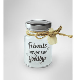 Star lights friends never say goodbye