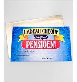 Cadeau-cheque nr 34 pensioen