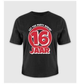 Leeftijd shirt nr 1 16 jaar