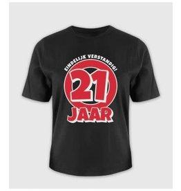 Leeftijd shirt nr 3 21 jaar