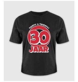 Leeftijd shirt nr 5 30 jaar