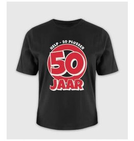 Leeftijd shirt nr 7 50 jaar