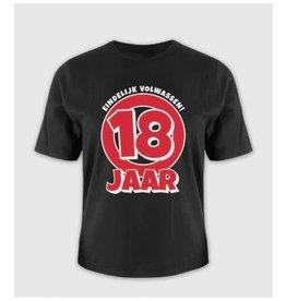 Leeftijd shirt nr 2 18 jaar