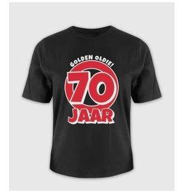 Leeftijd shirt nr 12 70 jaar