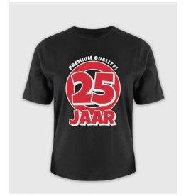 Leeftijd shirt nr 4 25 jaar