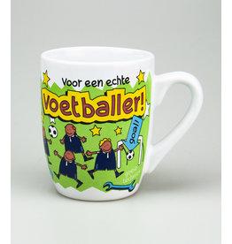 Cartoonmok Voetballer!