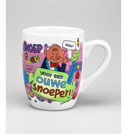 Cartoonmok Ouwe snoeper!