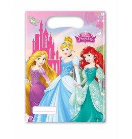 Disney princess uitdeelzakjes 6 stuks