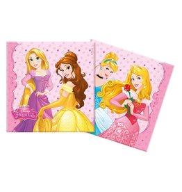 Disney Princess servetten 20 stuks 33 x 33 cm