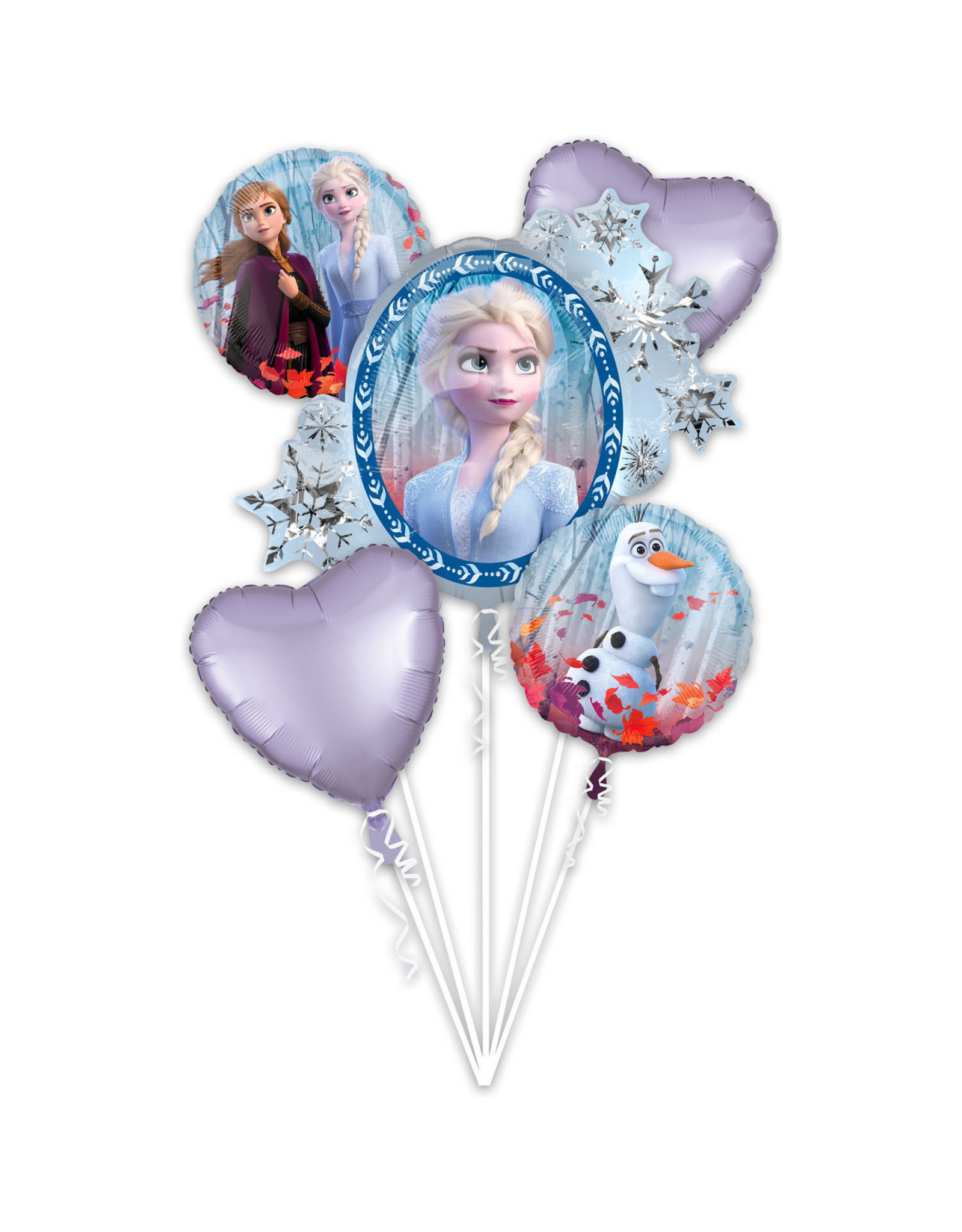Amscan folieballonpakket Frozen 2 5-delig