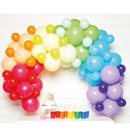 Ballonnenboogset DIY multicolour 78 ballonnen