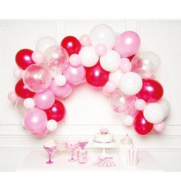 Ballonnenboogset DIY roze 70 ballonnen