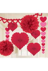 Amscan decoratie kit liefde 9-delig