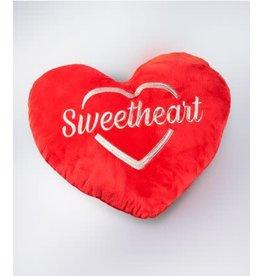 Hartkussen rood Sweetheart