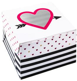 Amscan love cake boxen 2 stuks