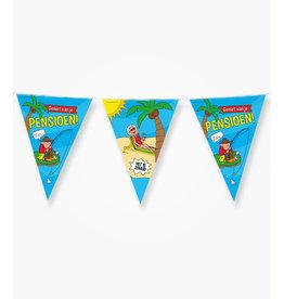 Party vlaggenlijn pensioen 10 meter