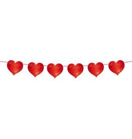 Slinger hart rood 6 meter