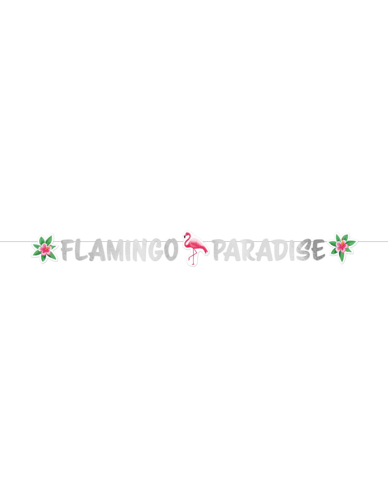 Amscan flamingo letterslinger 1.35 meter