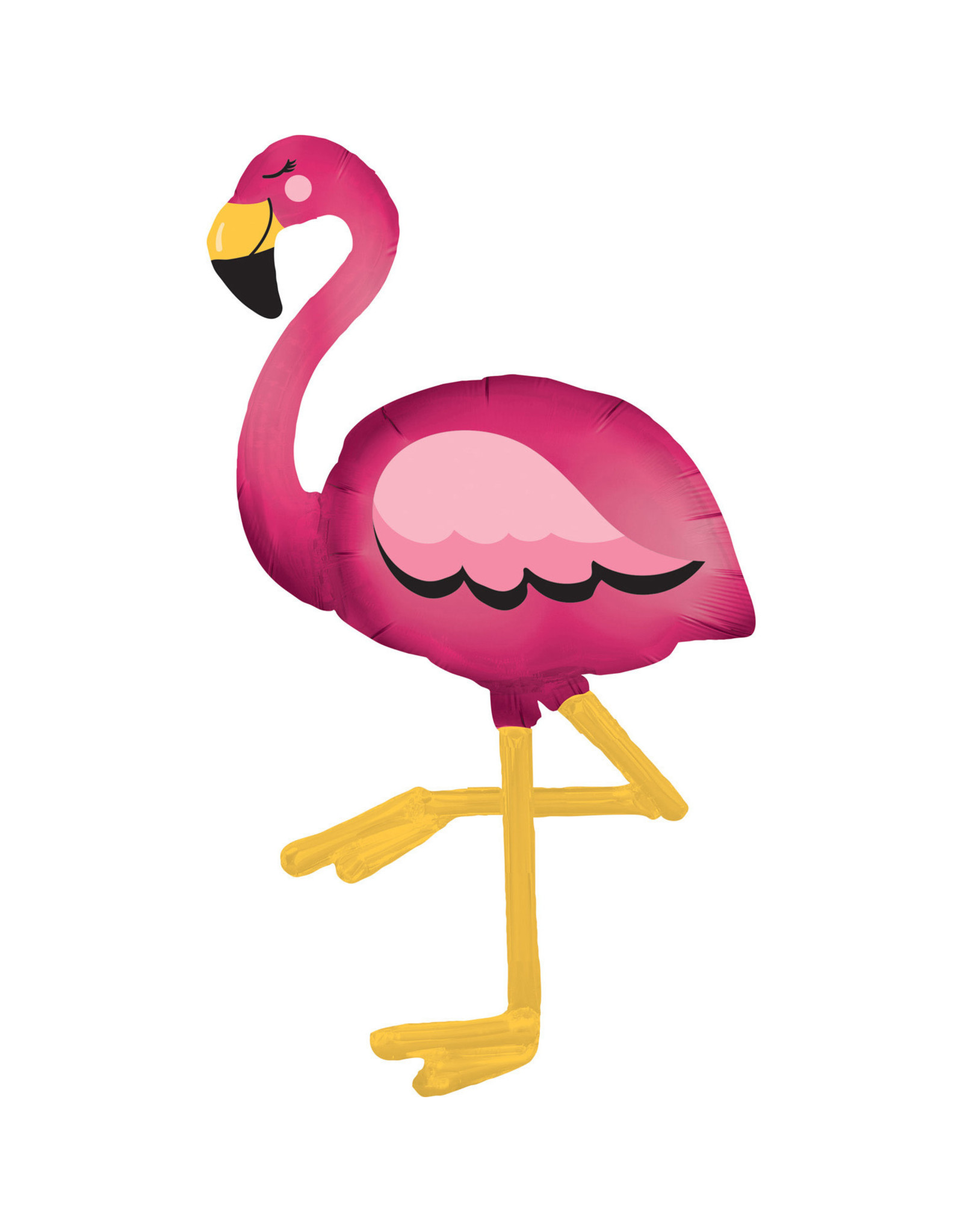 Amscan airwalker flamingo 86 x 172 cm