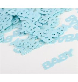 Party factory baby confetti blauw