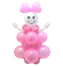 Ballonnen set baby meisje do it yourself