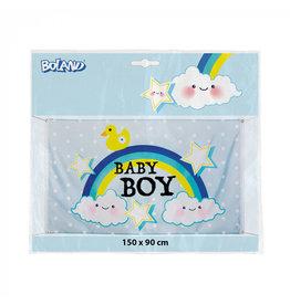 Polyester vlag baby boy 90 x 150