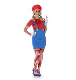 Partychimp Super Mario dame maat L