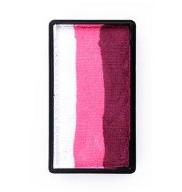 PXP splitcake rood roze wit 43340 28 gram