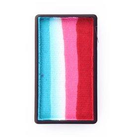 Splitcake 28 gram Red, Pink, White, Turquoise