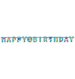 Baby Shark letterslinger happy birthday