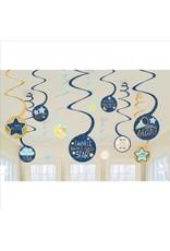 Amscan twinkle little star hangdecoratie 12-delig