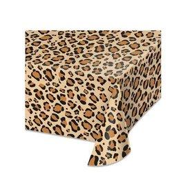 Tafelkleed luipaard print 137 x 274 cm