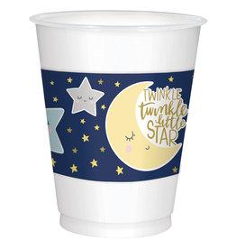 Amscan twinkle little star plastic cups 25 stuks