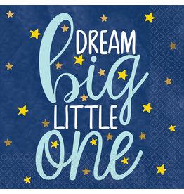 Amscan twinkle little star servetten 25 x 25 cm 16 stuks