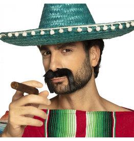 Boland mexicaanse snor 1 stuk