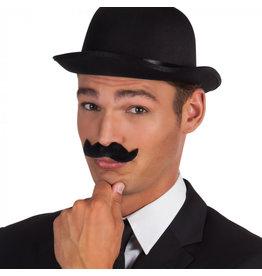 Boland snor gentleman zwart 1 stuk