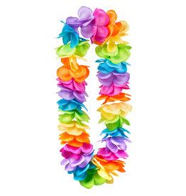 Boland Hawaiikrans regenboogkleuren XL 1 stuk