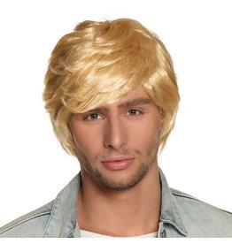 Boland pruik Tyler blond haar