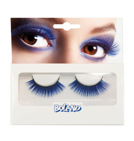 Boland wimpers blauw