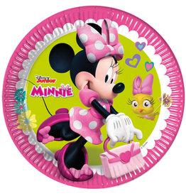 Minnie Mouse borden 23 cm 8 stuks