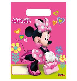 Minnie Mouse uitdeelzakjes 6 stuks