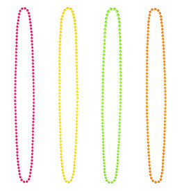 Boland kettingen 1 set a 4 stuks in 4 kleuren