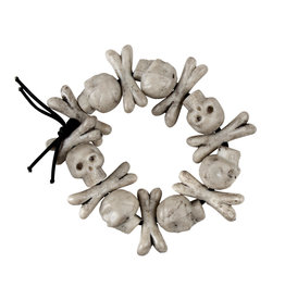 Boland armband skullbones