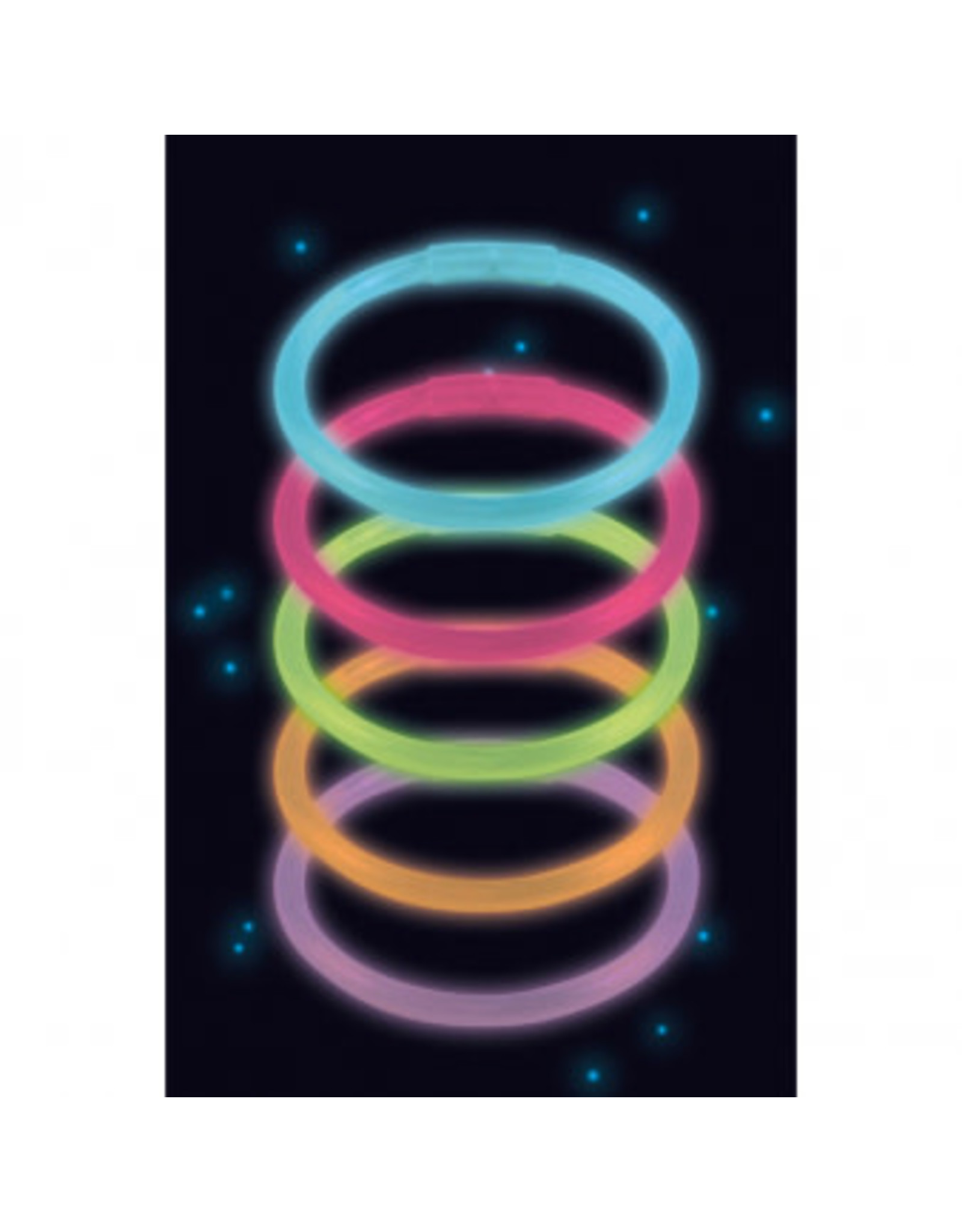 Amscan Glow armbanden 10 stuks
